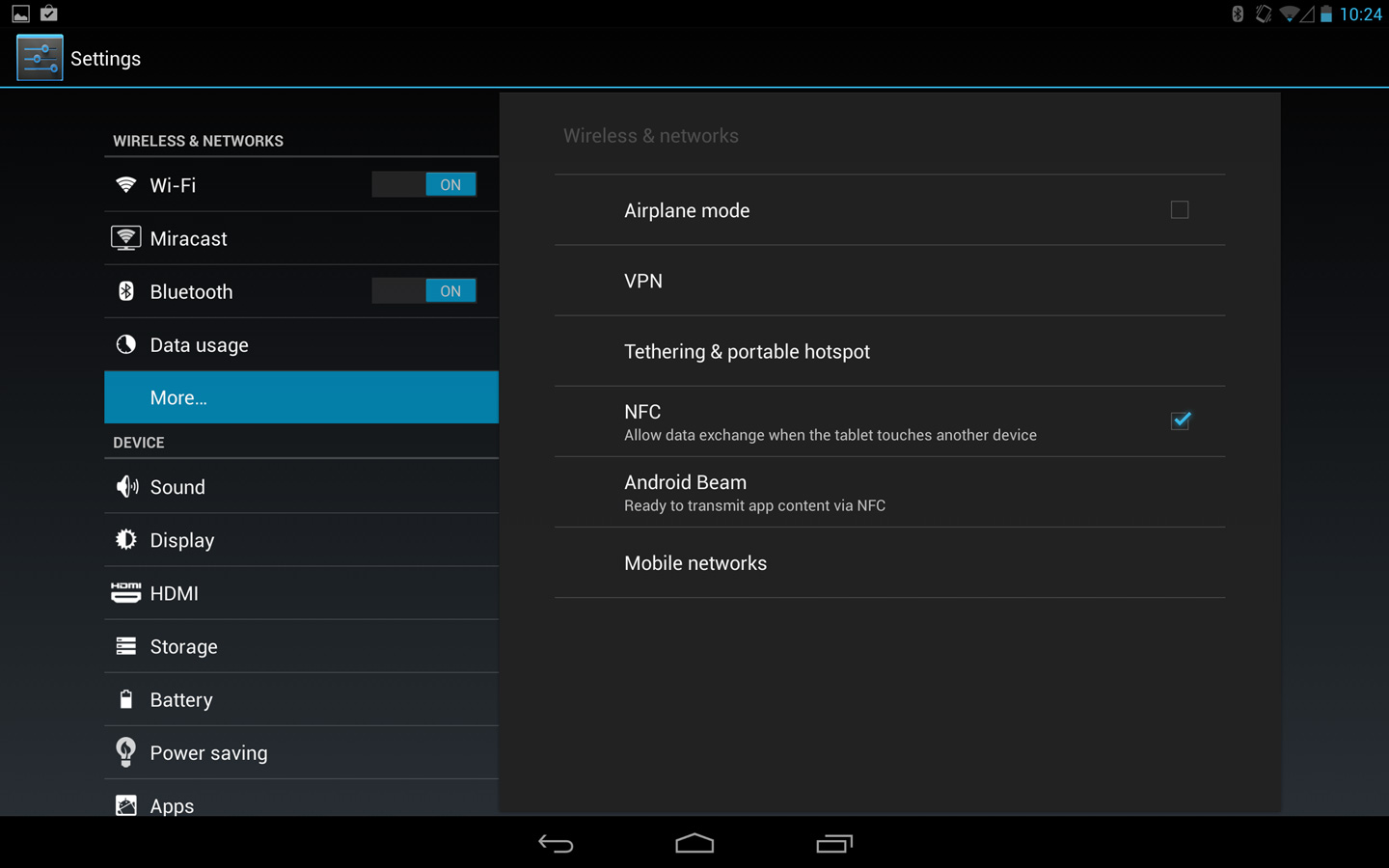 Using Android Beam | Android 4 2 Tablet KALOS | Quick Help Guide